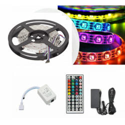 kit tira LED RGB 5 mts...