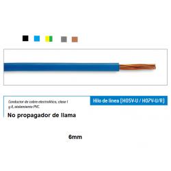 cable electrico cobre 6mm...
