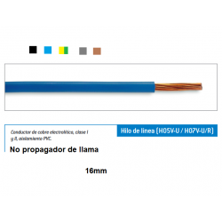 cable electrico cobre 16mm2...