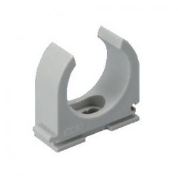 grapa para tubo H pvc 20mm
