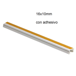 16x10mm canaleta adhesiva...