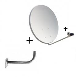 kit antena parabolica SAT +...