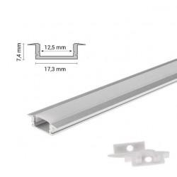 perfil aluminio para tiras...