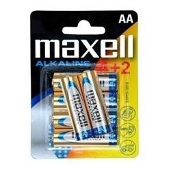 Blister maxell 4+2 pilas...