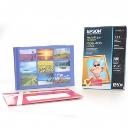 Pack papel epson s042547 +...