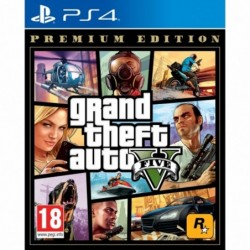 Juego ps4 -  grand theft...