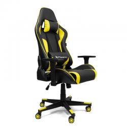 silla gaming amarilla