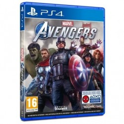 Juego ps4 -  marvels avengers